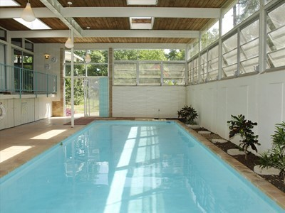Pool  House on Indoor Pool Anyone     Everyone  I Ll Take It  Any Pool Party That