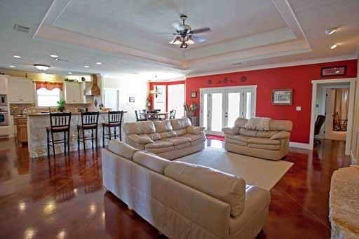 Open Country Floor Plan Bright Amp Open Floor Plan