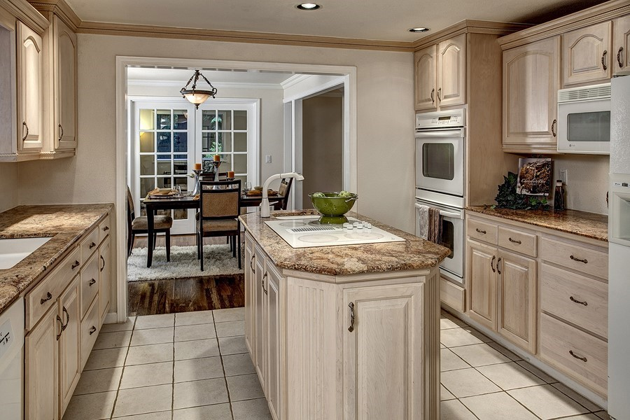 How To Whitewash Kitchen Cabinets