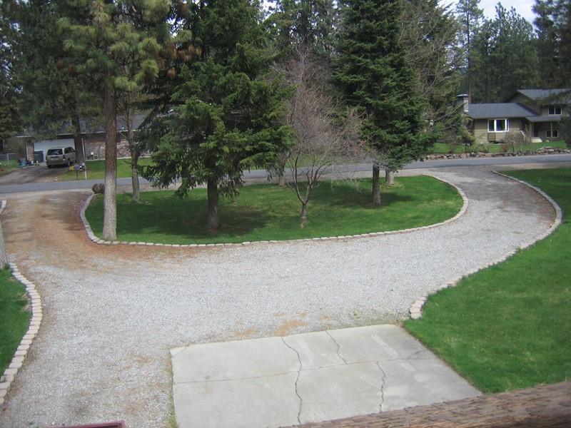 Shaped Driveway Landscaping : Alfa img showing gt u driveway